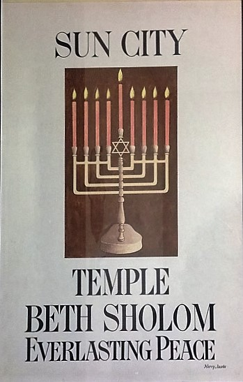 50 year old Conservative Synagogue Started in Sun City